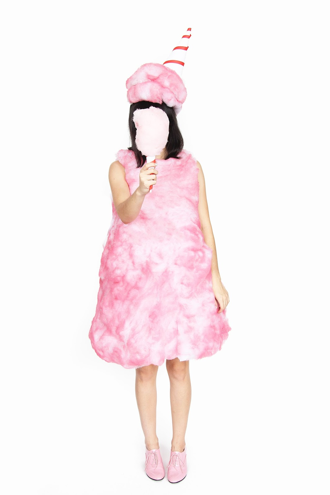 187 diy cotton candy halloween costume