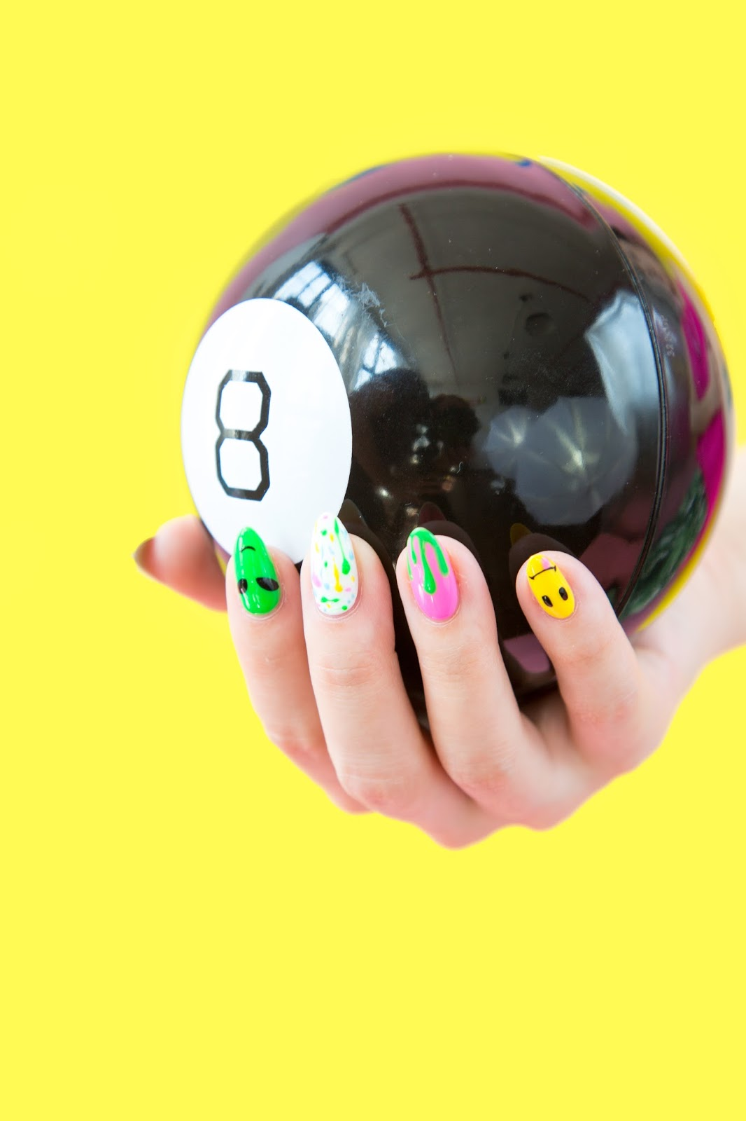 DIY 90s Throwback Manicure
